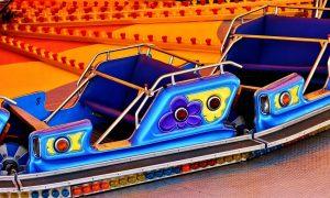 fairground, ride, carousel